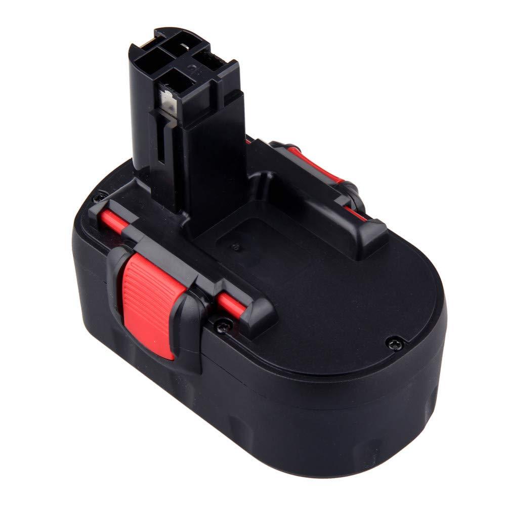 REEXBON Batería 18V 3.0Ah para Bosch BAT025 BAT026 BAT160 BAT180 BAT181 BAT189 2607335535 2607335266 2607335735 GST18V GSB18VE-2 GSA18VE GDR18VE GSR18 PSB18 PSR18