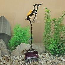 Treasure Hunter Diver Action Figure Fish Tank Ornament Aquarium Decoration Landscape