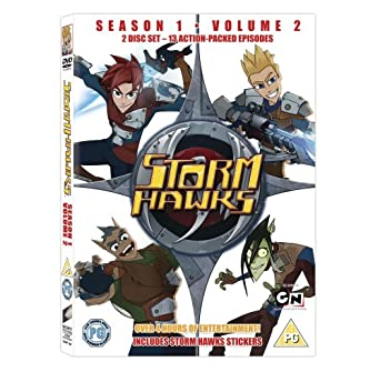 Storm Hawks: Season 1 - Volume 2 [DVD] [2008]: Amazon co uk: Asaph