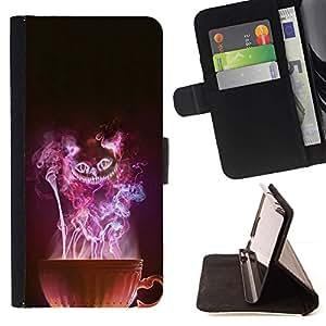 Momo Phone Case / Flip Funda de Cuero Case Cover - Copa Bruja de Halloween del Mal Misterioso - Sony Xperia Z1 Compact D5503
