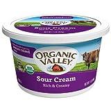 Organic Valley Organic Sour Cream, 16 Ounce -- 6 per case.