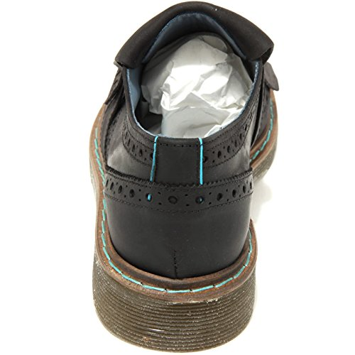 Mocassino Scarpa Model Philippe Nero 2043g Bassa Loafer Shoes British West Donna 7n60xR