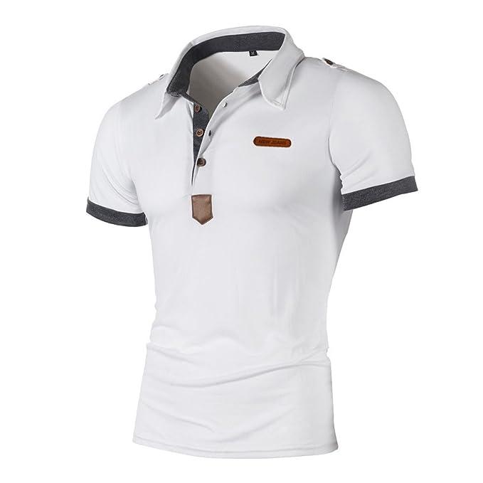 ZODOF Camisas Hombre Camisas de Moda de Verano para Hombres ...
