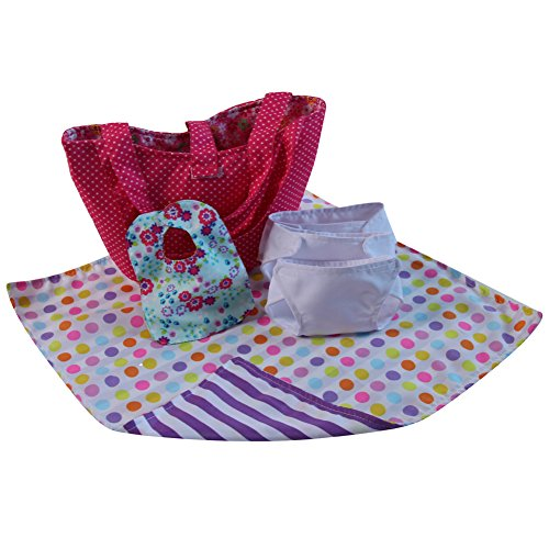 Baby Doll Deluxe Diaper Bag Gift Set