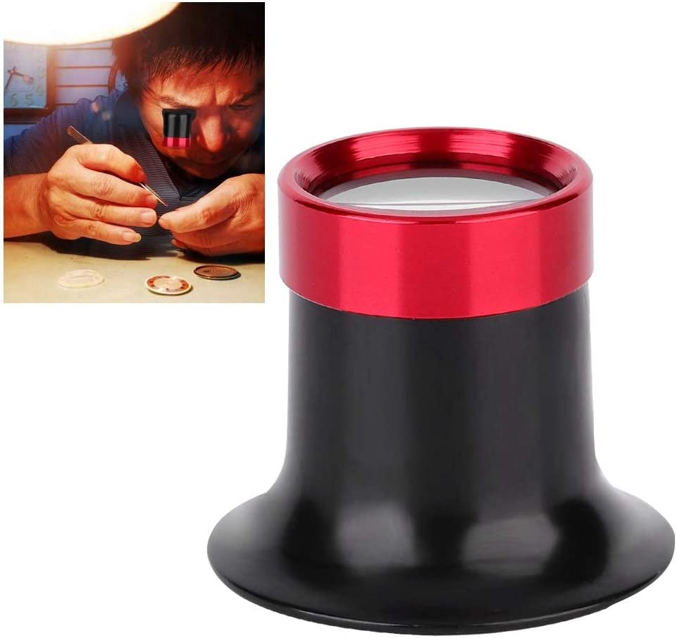 Portable For Jeweler For Watchmaker Loupes Convenient 10X Magnifier Loupe