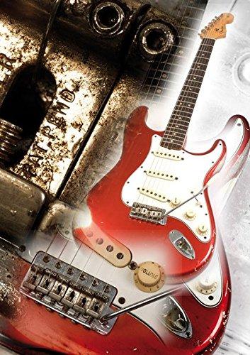Vintage Guitar Poster 1: 1963 Fender Stratocaster 1963 Fender Stratocaster