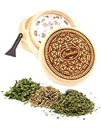 Get Cookies Engraved Premium Natural Wooden Grinder Item # PW91316-22 compare