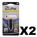 Nite Ize Slc-01-R7 Total Eclipse Mountable Self-Locking Pocket Clip