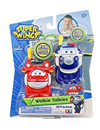Super Wings - Walkie Talkies Jett & Paul Toy BOBEBE Online Baby Store From New York to Miami and Los Angeles