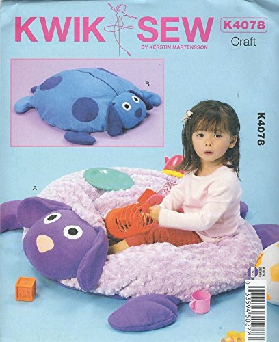 Kwik Sew 4078 Lamb and Dog Ball Pit Sewing Pattern supplier:sailorsparadise by instrainclug