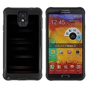 "Hypernova Defender Series TPU protection Cas Case Coque pour SAMSUNG Galaxy Note 3 III / N9000 / N9005 [Minimalista color Rayas""]"