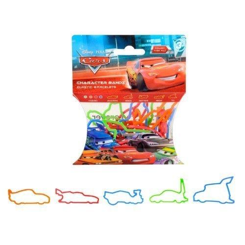 (Disney Logo Bandz Kids Silly Rubber Bands Cars 20PK by Forever Collectibles by Forever Collectibles)
