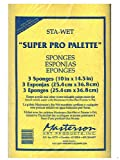 Masterson Sta-Wet Super Pro Palette Sponge Refill