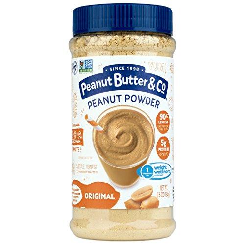 Peanut Butter & Co. Original Peanut Powder, Non-GMO Project Verified, Gluten Free, Vegan, 6.5 oz - Powder Pb Fit Peanut Butter