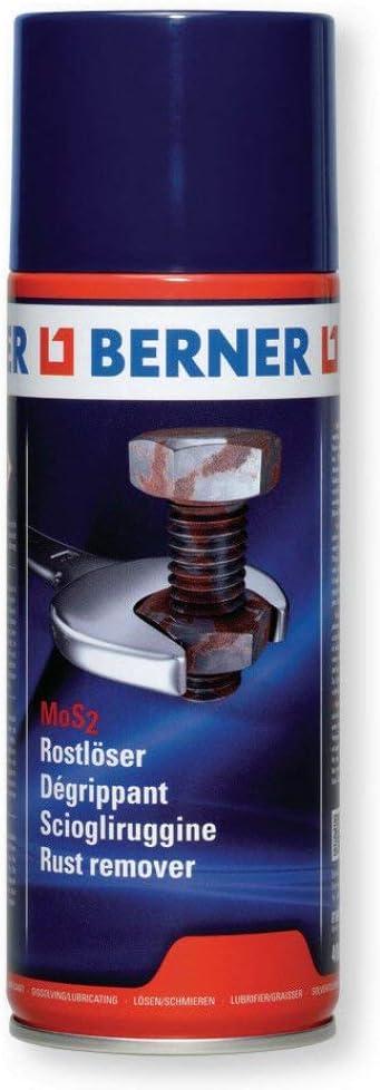 Rostlöser Spray Mos2 Berner Korrosionsschutz Kriechöl Rostentferner 400ml Auto