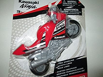 Amazon.com: MOTO SPEED KAWASAKI NINJA MOTORCYCLE - RED: Toys ...