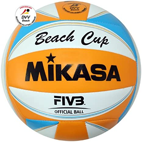 Mikasa 1614 Beach Cup - Pelota de volley playa, color naranja ...