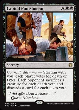 Magic: the Gathering - Capital Punishment - Conspiracy 2: Take the Crown
