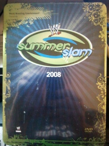 WWE Summerslam 2008 Collectable Tin (Wwe Tin Dvd)