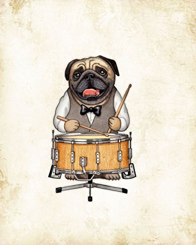 percussion-pug-dog-music-art-print-by-dan-morris