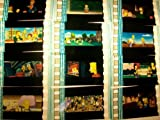 SIMPSONS Lot of 12 35mm Film Cells collectible memorabilia compliments dvd po...