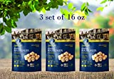 Roasted Hazelnuts Natural Non-GMO Certified, Unsalted, Dry Roasted, Kosher Certified, Resealable Bag 3 Set of 16 oz (48 oz)
