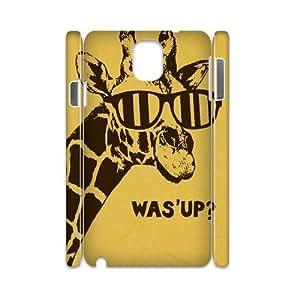Giraffe Custom 3D Cover Case for Samsung Galaxy Note 3 N9000,diy phone case ygtg561577
