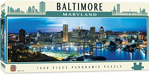 MasterPieces American Vistas Panoramic Baltimore Jigsaw Puzzle, - Shopping Baltimore
