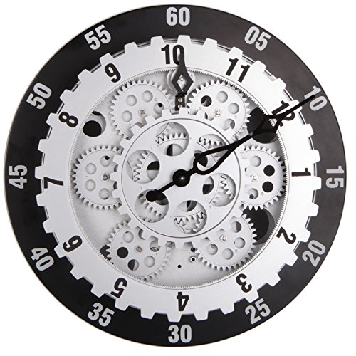 Awesome Enjoyable Life Fashionable 12 Inch Ring Gear Wall Clock, Contemporary Mechanical  Design, Home Room Decor, Quartz Movement   Buy Online In UAE.