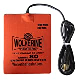 Wolverine Heaters - Model 80 - 1000 Watts - Engine Oil, Reservoir, Biofuel and Hydraulic Fluid Heater - 240 Volts