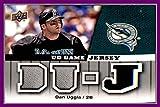 2009 Upper Deck UD Game Jersey #GJDU Dan Uggla Miami Florida Marlins GAME USED JERSEY