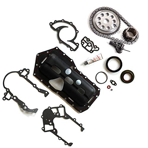 AUTOMUTO Timing Part Timing Chain kit Head Gasket Set fits for 2000 2001 2002 2003 Buick Lesabre 3.8L 3800CC 231Cu. in. V6 Gas OHV Naturally Aspirated ()