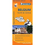 Belgium North & Central - Michelin Regional Map 533: Map (Michelin Regional Maps)