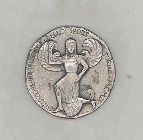 1955 Torino Sport Medal Case Esposizione Internazionale Acer Moo Lorioli