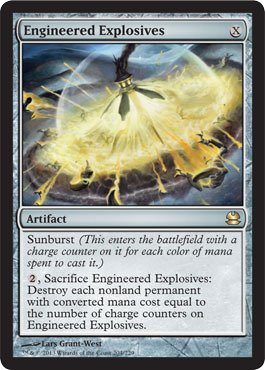 Magic: the Gathering - Engineered Explosives - Modern Masters by Magic: the Gathering