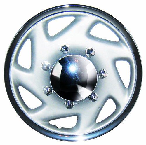 16 white hubcaps - 4