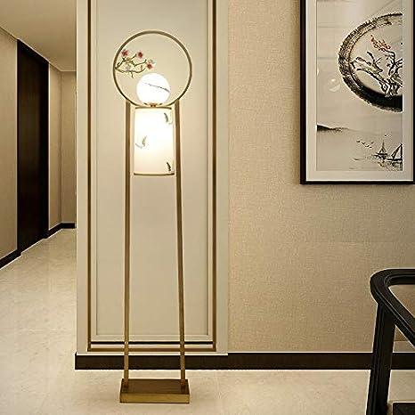 Nueva lámpara de pie china moderna Estilo chino ...
