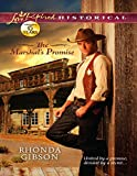 The Marshal's Promise by Rhonda Gibson front cover