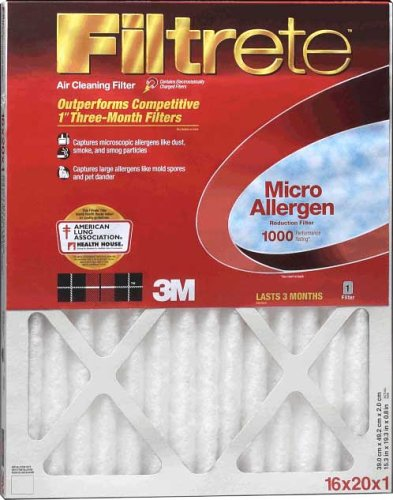 3m 15in. X 20in. Filtrete Micro Allergen Reduction Filters