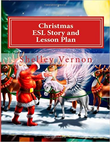 Book Christmas: ESL Story and Lesson Plan: An English Christmas for Young ESL Learners
