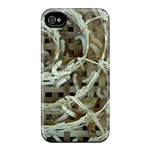 Iphone 4/4s Case Cover Larva Animals Case - Eco-friendly Packaging