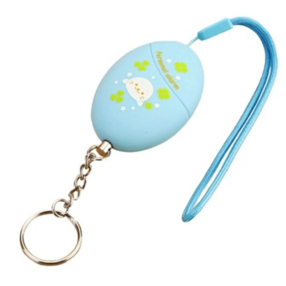 Cute Emergency Self-Defence Electronic Personal Security Keychain Alarm - Blue Kylin Express