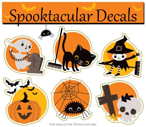 Spooktacular Halloween DECAL Pack (non-magnetic!)