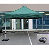Impact Canopy Pop Up Tent Weights, Canopy Weight Plates for Outdoor Canopy Legs, Set of 4