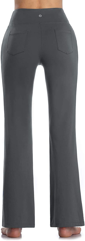 MOVE BEYOND Pantalones de Yoga para Mujer de con 4 Bolsillos Pantal/ón de Pilates de Cintura Alta Yoga Gimnasio Running Training