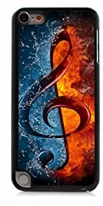 HeartCase Hard Case for Apple itouch 5g 5th Generation ( Treble Clef Music )
