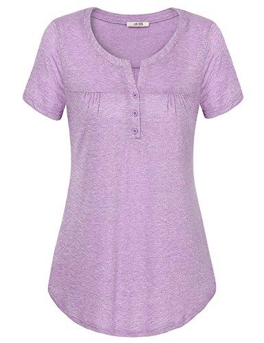 Vivilli Womens Sleeve Shirts Casual