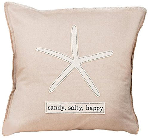 Glory Haus Sandy, Salty, Happy Pillow Cover, Multicolor by Glory Haus