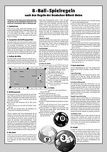 TORNEO-reglas de billar 8-Ball: Amazon.es: Deportes y aire libre