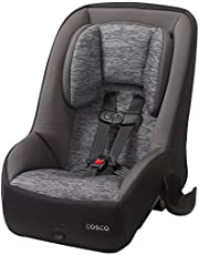 Cosco Mighty Fit 65 DX Convertible Car Seat, Heather Onyx Gray